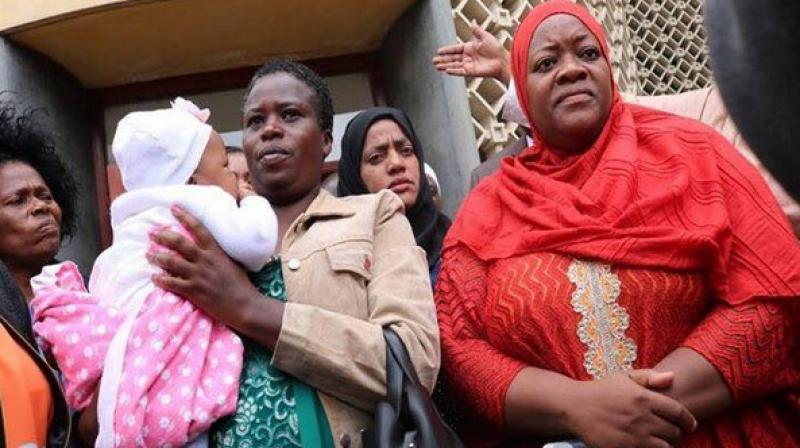 A female lawmaker, Zuleikha Hassan, was asked to leave the Kenyan Parliament after she brought her 5-month-old baby along. (Photo: ANI/Hassan's Facebook Account)