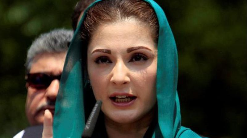 Maryam Nawaz was taken into custody by the National Accountability Bureau (NAB) on Thursday. (Photo: ANI)