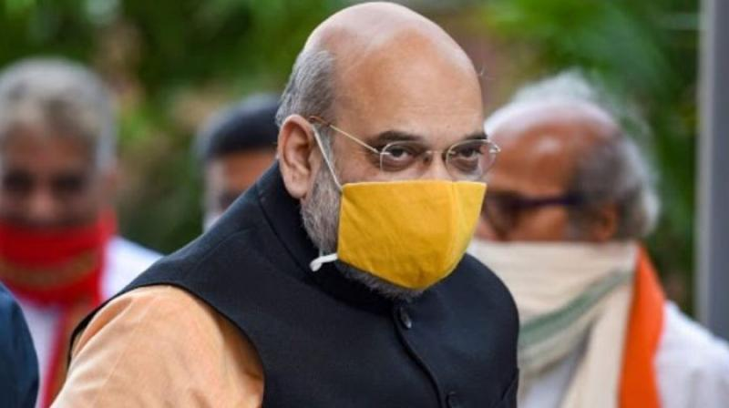Union Home Minister Amit Shah. Shah has been re-admitted to All India Institute of Medical Sciences (AIIMS) after complaining of breathing issues on Saturday. (PTI)