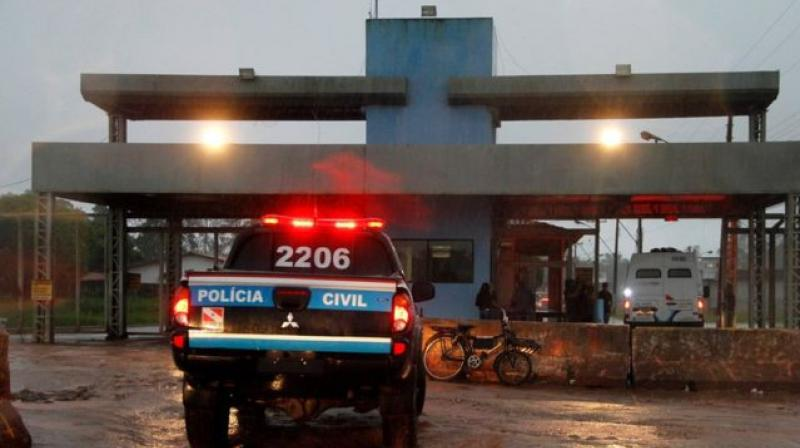 The mass escape attempt took place at the Santa Izabel Penitentiary Complex in Brazil. (Photo: AFP)