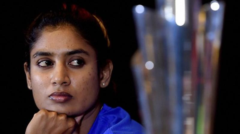 Women's ODI skipper Mithali Raj on Sunday thanked BCCI president Sourav Ganguly for felicitating her on the first day of the ongoing day-night Test between India and Bangladesh and said it was a humbling experience to share the stage with greats of the game.  (Photo:Twitter)