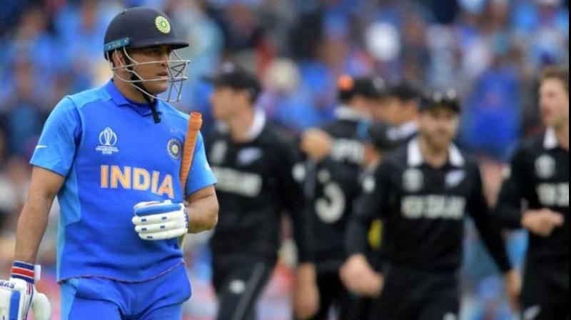 After India lost to New Zealand in the 2019 World Cup semi-final, many cricket legends including Sourav Ganguly and VVS Laxman slammed the team management and the selectors' decision to send Mahendra Singh Dhoni at number 7. Now, recently, Indian cricketer Suresh Raina has also opined that MS Dhoni could have won the match for India, if he had been sent at no 4. (Photo:AFP)