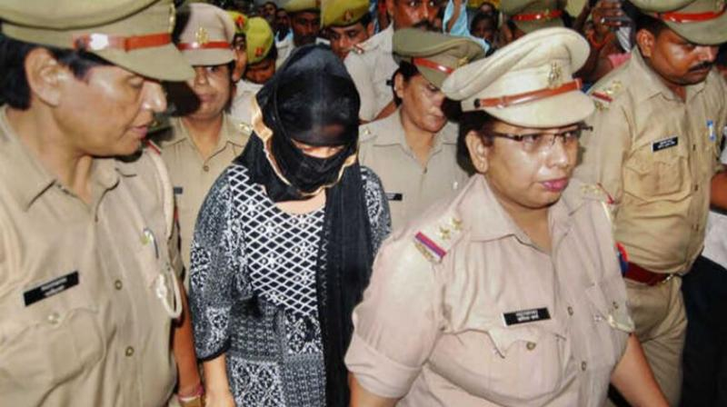 She was arrested around 9.15 am from her home in the presence of her father and brother after which she was taken for a medical examination.  (Photo: PTI)