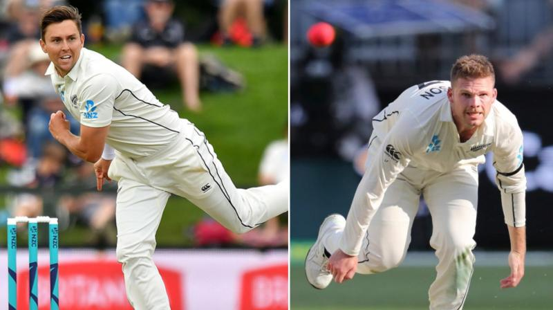 New Zealand quick Lockie Ferguson has been ruled out of the remaining two tests against Australia, but the embattled tourists are confident spearhead Trent Boult will be fit to provide a spark in the pivotal Boxing Day test. (Photo:AFP)