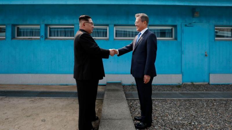 South Korean President Moon Jae-in sent Chung and other envoys to the North Korean capital on Wednesday to set the timing and agenda for the third inter-Korean summit this year, and to break the impasse in talks between Washington and Pyongyang over dismantling the North's nuclear programme. (Photo: File)