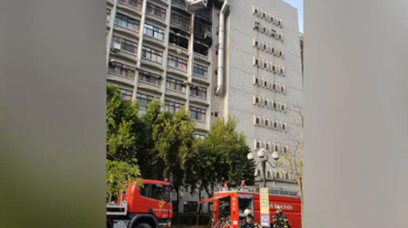 New Taipei fire department chief Huang Te-ching said the cause of the fire was still being investigated and denied reports that the sprinkler system had malfunctioned. (Photo: AFP)