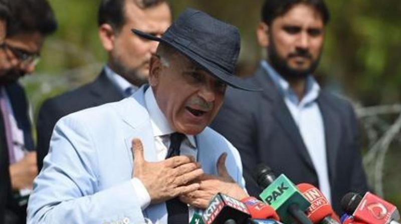 Mian Muhammad Shehbaz Sharif of the PML-N party is among 10 political parties chief who have failed to obtain the mandatory 25 per cent of the total votes polled in their constituencies, and stand to lose their security deposit.(Photo: AFP)