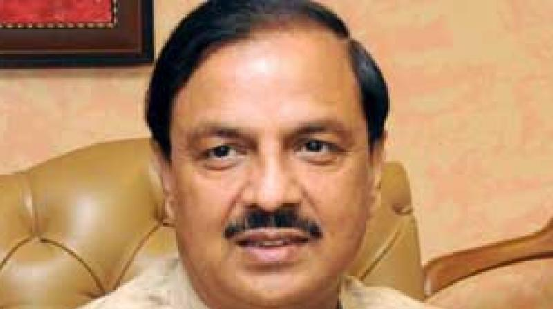 Union Minister Mahesh Sharma on Monday opined that, if Prime Minister Narendra Modi gets a second term, he will not only change the destiny of India but will also change the map of Pakistan. (Photo: File)