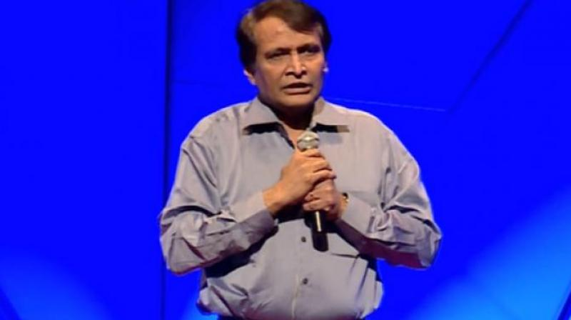 Commerce and Industry Minister Suresh Prabhu.