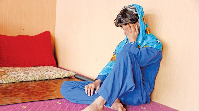 One of the many boys held as a sex slave at a restaurant in an unidentified location in Afghanistan. (Photo: AFP)