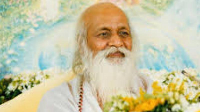 Maharishi Mahesh Yogi (Photo: purusha.org)