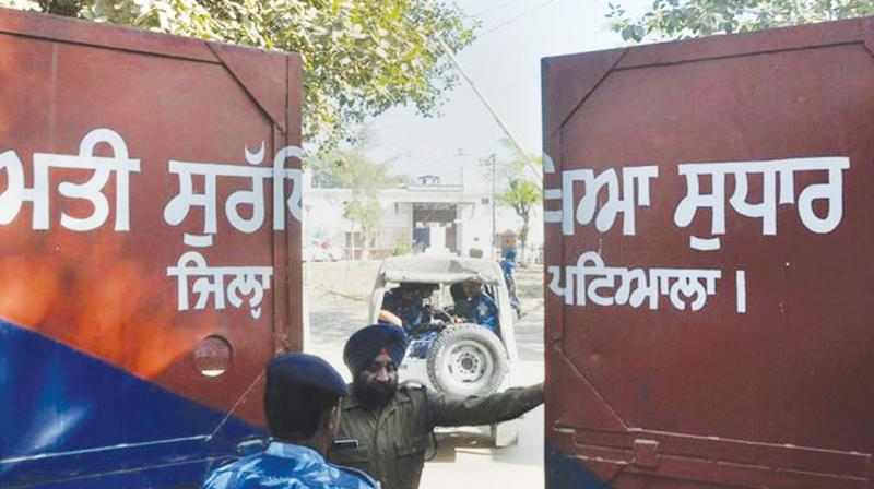 Nabha jail from where 6 prisoners escaped in 2016.