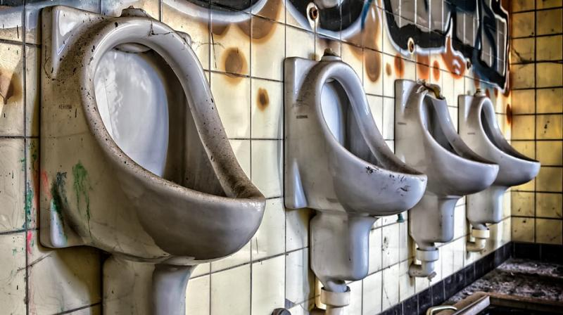You might assume there was residual bleach left in the toilet, but actually it's your urine that's created the bubbles.