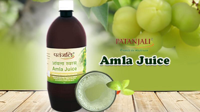 Patanjali Amla Juice.