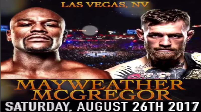 Undefeated boxer Floyd Mayweather and mixed martial arts champion Conor McGregor will fight in Las vegas.  (Photo: instagram/Floyd Mayweather)