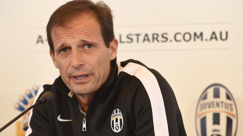 The Italian Football Federation recognised Allegri following five successive Scudetto triumphs and six in total. (Photo: AP)