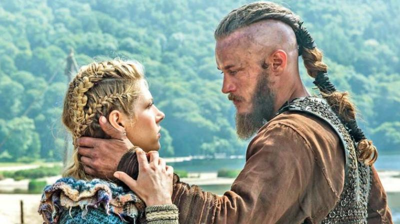 A still from Vikings