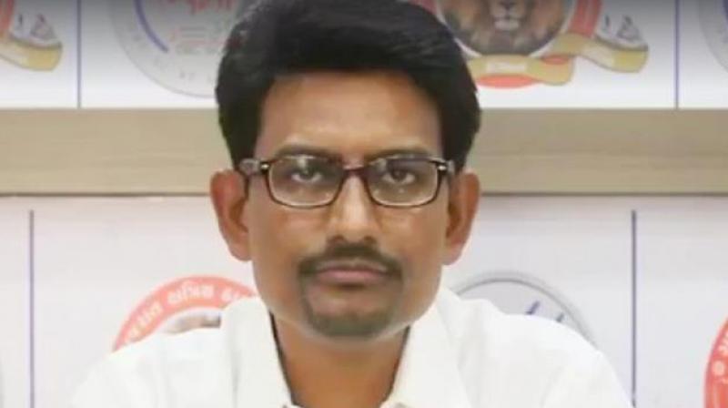 Gujarat Congress MLA Alpesh Thakor