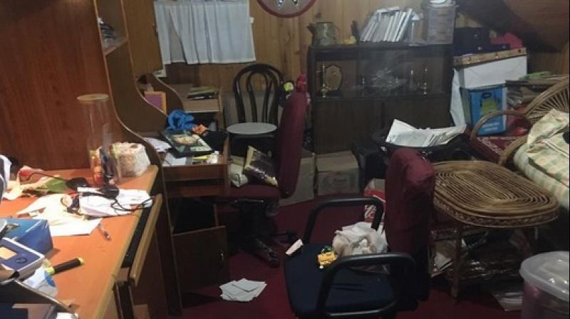 Gorkha Janmukti Morcha (GJM) General Secretary Roshan Giri has alleged that his house was ransacked by West Bengal Police on Wednesday night. (Photo: ANI)