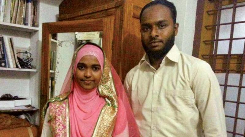 Hadiya with her husband Shafin Jahan (File photo)