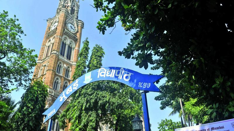 File picture of Mumbai University at Fort