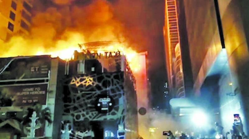 14 were killed in a fire at Kamala Mills Compound.