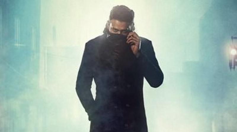 Prabhas' first poster of 'Saaho'.