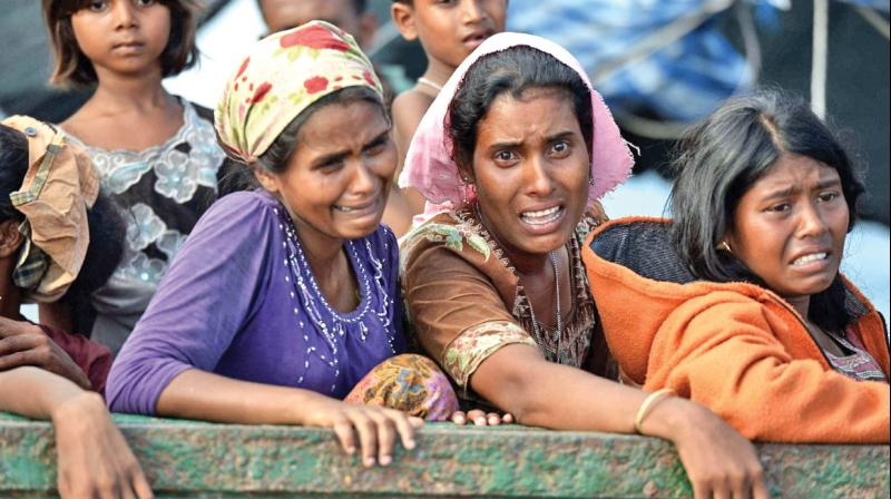 The US-based rights group said in a report that the sexual violence, along with other atrocities committed by Myanmar security forces, amount to crimes against humanity. (Photo: File)