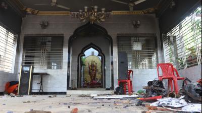 Goons attack Hindu temples in Bangladesh during Durga Puja, 4 killed