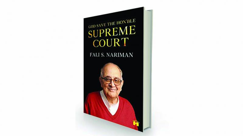 God Save the Hon'ble Supreme Court, By Fali S Nariman, Penguin, Rs 699