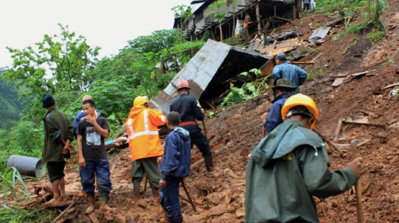 Rescue operations are underway at the site. (Photo: PTI)