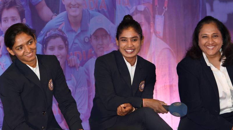 The Women in Blue performed extremely well throughout the tournament before ending up as runner-up, going down by nine runs to England. (Photo: PTI)