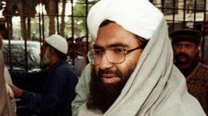 The terrorist outfit Jaish-e-Mohammad confirmed that 3 terrorists who were gunned down by the security forces on Monday in an encounter in Pulwama of J&K included Maulana Masood Azhar's nephew and outfit's divisional commander. (Photo: File | PTI)