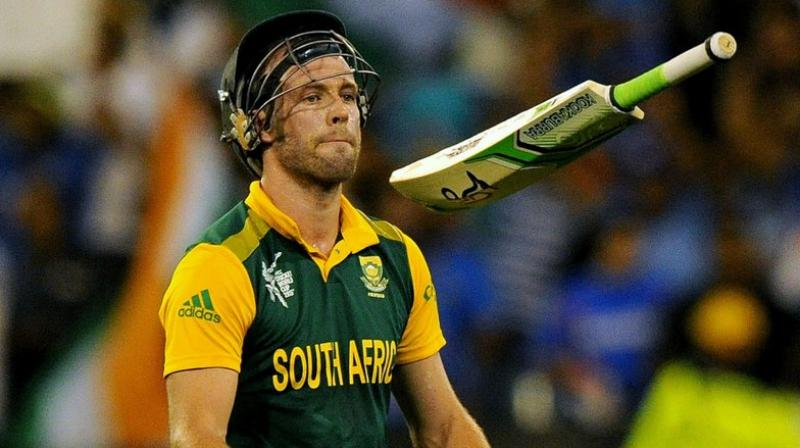 Newly appointed South Africa men's head coach Mark Boucher has hinted at asking AB de Villiers to come out of retirement ahead of the ICC T20I World Cup. (Photo:AFP)
