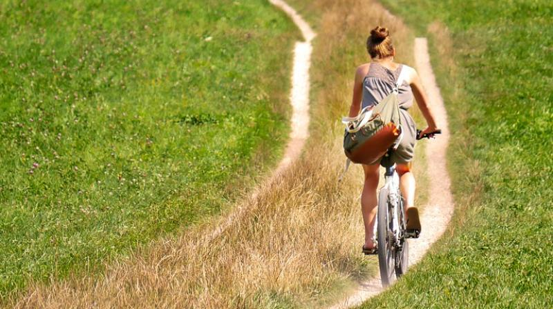 The new research should help to quell fears instilled in female cyclists after several small studies suggested a link between cycling and sexual and urinary dysfunction. (Photo: Pixabay)
