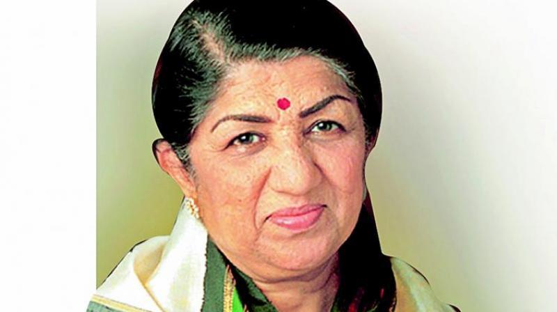 Lata Mangeshkar.
