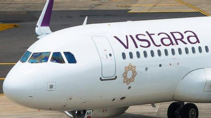 Vistara introduces three days of leave without pay for pilots in September. (PTI Photo)