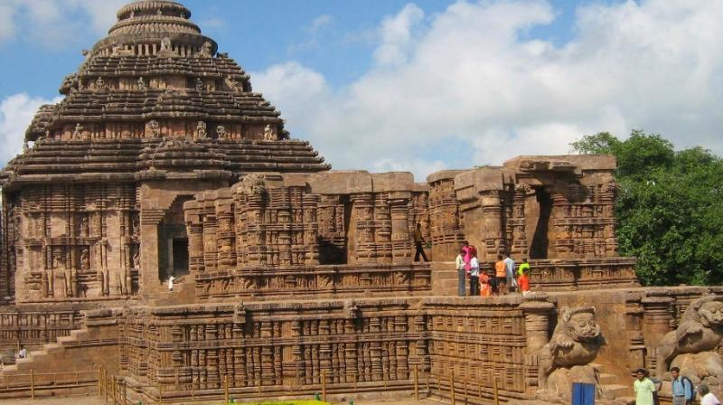 Sun Temple at Konark in Odisha's Puri district.