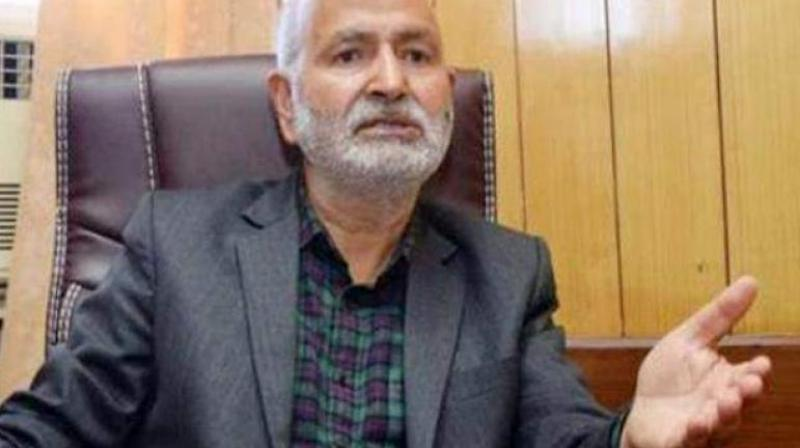 File image of former minister Naeem Akhtar.