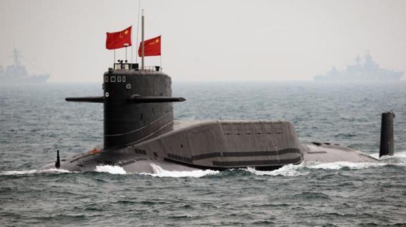 Chinese Navy submarine (Photo: AFP)