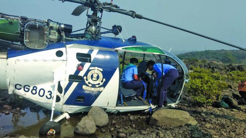 The incident took place around 2.48 pm near Nandgaon beach in Murud.