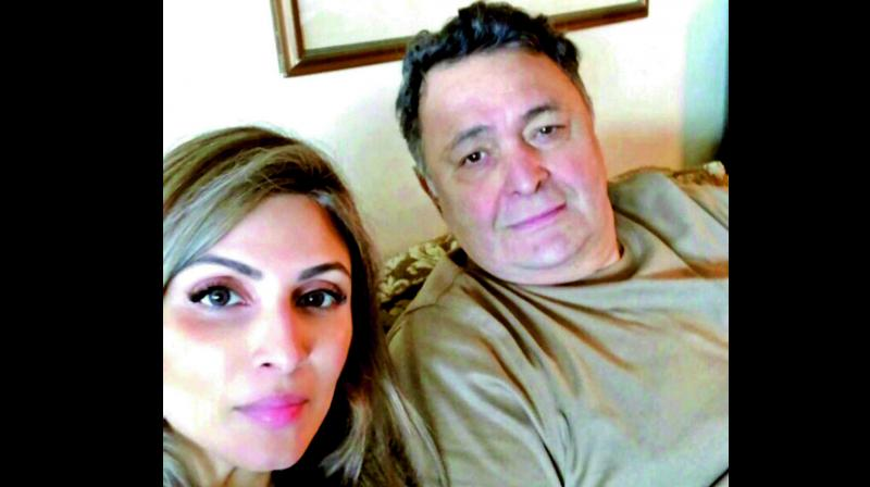 'Driving home ma,' Rishi Kapoor's daughter Riddhima en route to Mumbai