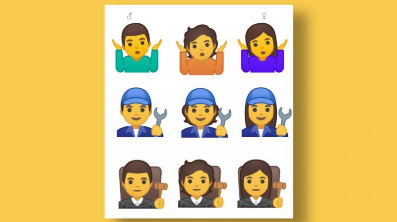 Google realised the lack of gender-neutral symbols. (Photo: Google/Fast Company)