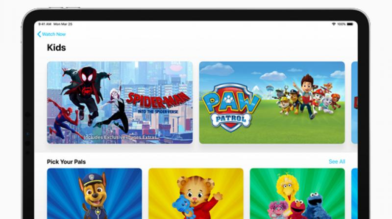 Through Family Sharing, up to six family members can share subscriptions to Apple TV channels using just their Apple ID and password.