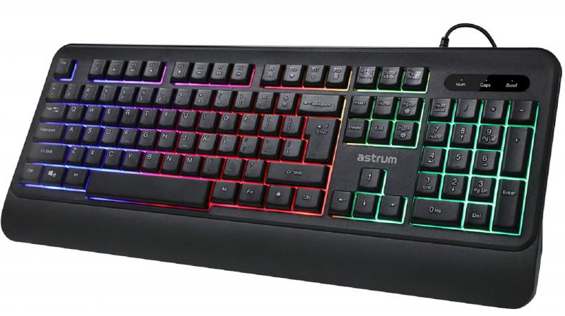 The keyboard boasts a host of features exclusively designed for gamers.