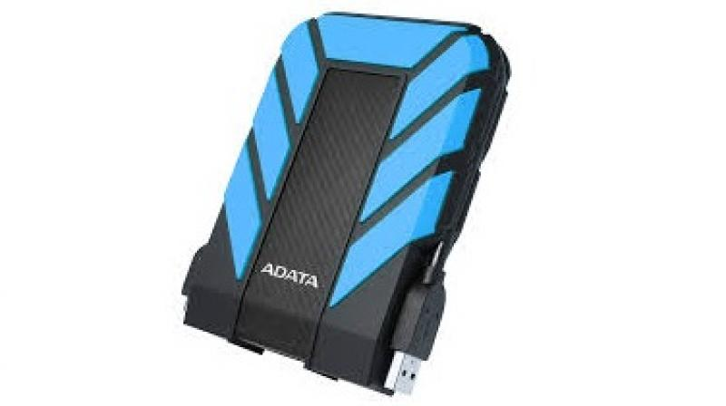 The Adata HD 710 pro has a convenient storage feature for the detachable USB cable.