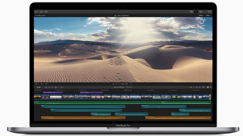 The 15-inch MacBook Pro now features faster 6- and 8-core Intel Core processors, delivering Turbo Boost speeds up to 5.0 GHz