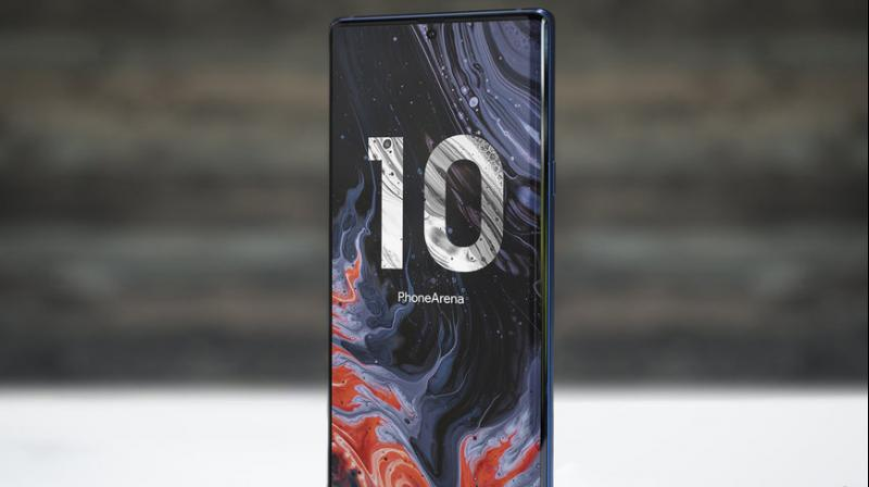 PhoneArena has put together some renders of the Samsung Galaxy Note 10. (Photo: PhoneArena)