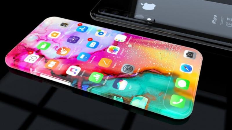 This iPhone 11 concept is beautiful and instead of a metal frame sitting in the centre, the designer has used a display that wraps around the entire handset. (Photo: Concepts iPhone)