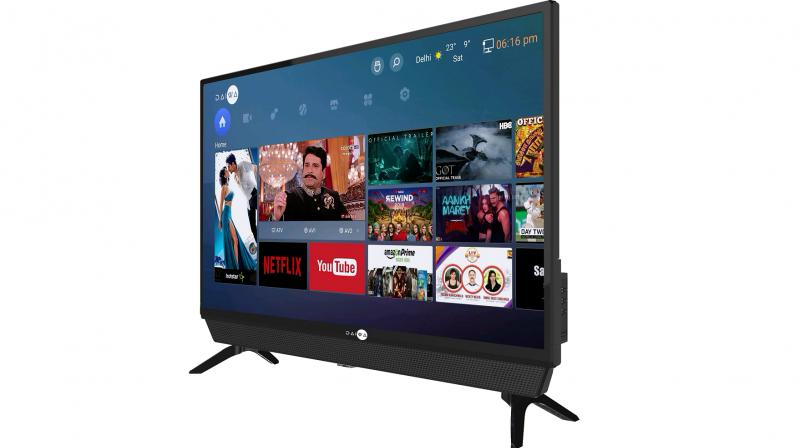 With A+ Grade Panel, and 16.7m colors, the Smart TV offers enriching involvement of red, green and blue colour efficiency.